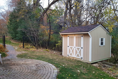 yard shed in indianola