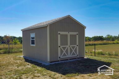 backyard utility shed in ia