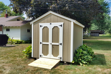 small utility shed in ia