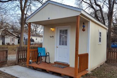 utility shed in osceola ia