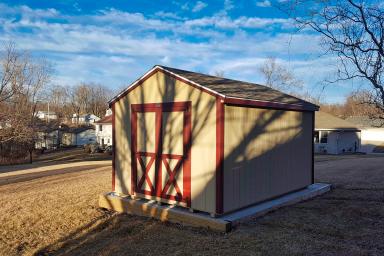 wood utility shed ia