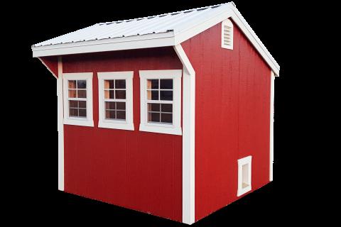 chicken coop, kauffman structures