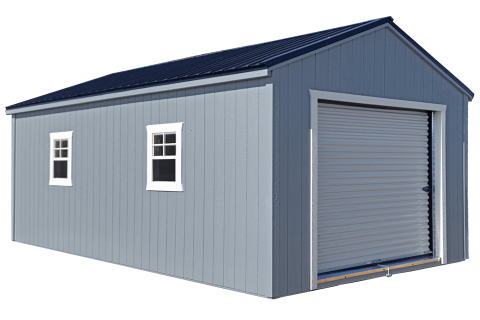 portable garage, kauffman structures