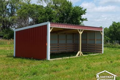 red loafing shed