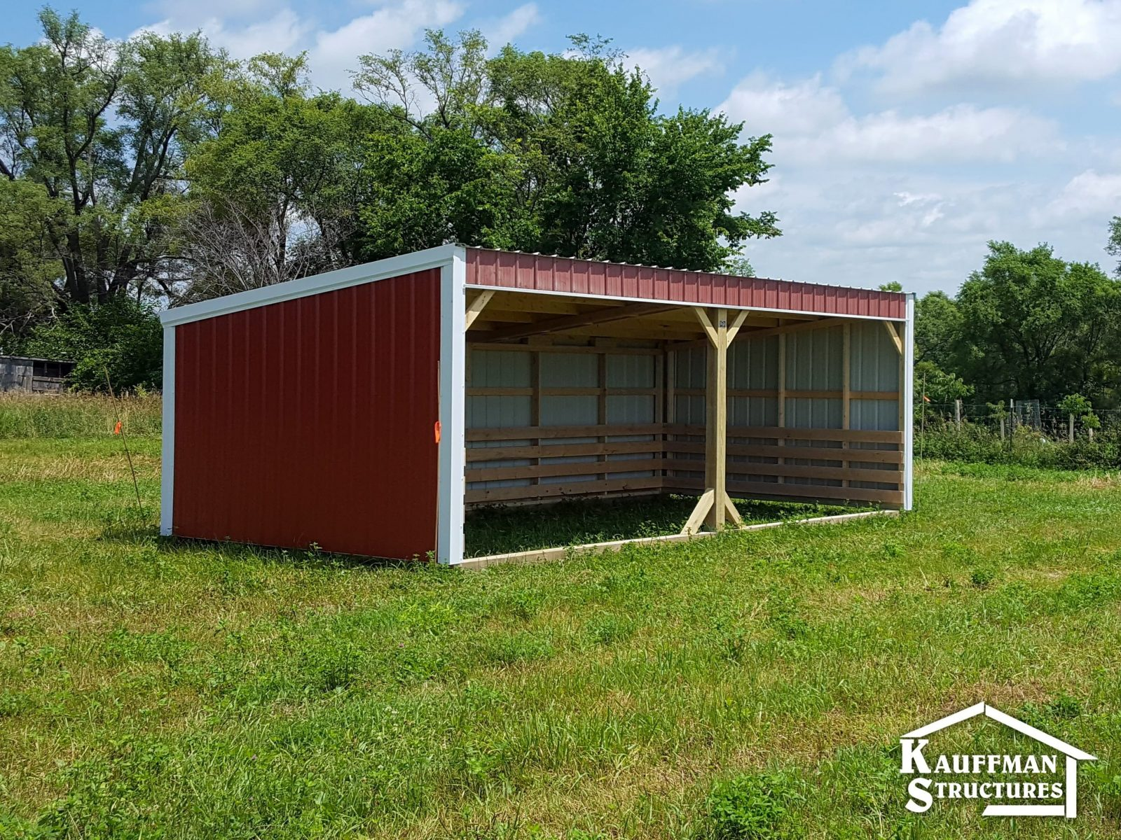 loafing shed in ames iowa