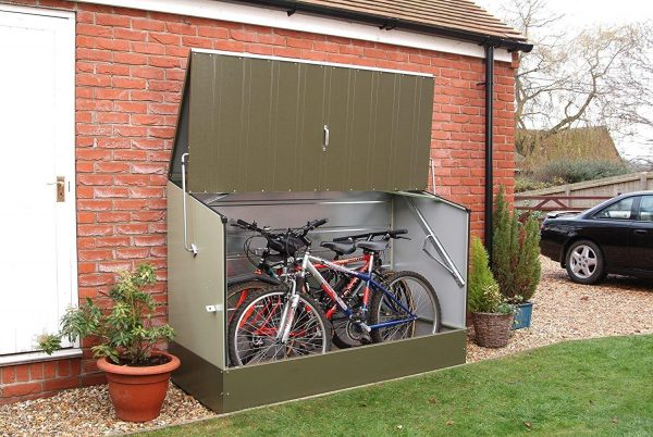 cheap bicycle shed for iowa bikes