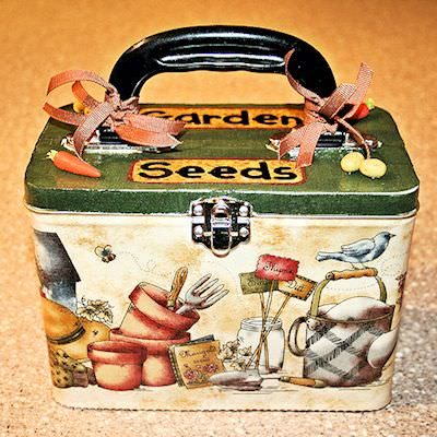 garden shed seed box